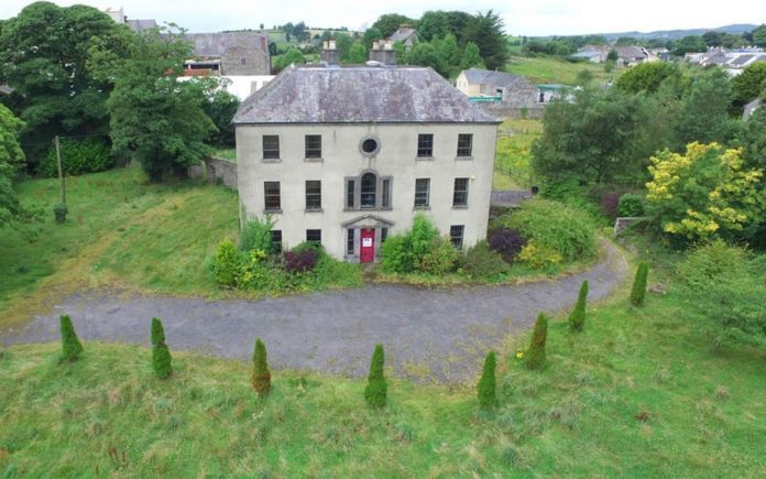 A Cheap Mansion – Georgian stately home Frybrook House, Bridge Street, Boyle, Macmoye, County Roscommon, F52 AP6, Ireland – For sale through REA Seamus Carthy for £136,000 ($179,000, €150,000 or درهم658,000).