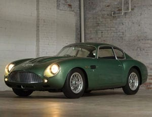 1962 Aston Martin DB4GT Zagato, RM Auctions, Driven by Disruption sale, New York, 10th December 2015
