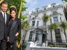 Basement It Like Beckham – Former Embassy of the People's Democratic Republic of Algeria, 54 Holland Park, London, W11 3RS – For sale for £30 million ($39.1 million, €34.9 million or درهم143.7 million) through Anthony Sharp