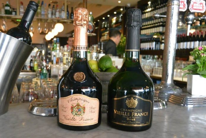 Reader Offer – Bargain champagne in SW3 – La Brasserie, 272 Brompton Road, London, SW3 2AW – £25 per bottle for Champagne Vielle France Brut (normally £58) and Champagne Vielle France Brut Rosé (normally £65)
