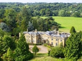 """A Derelict Doer-Upper – The Coombe Park Estate, Whitchurch-on-Thames, Reading, Oxfordshire, RG8 7QT, United Kingdom – Derelict 18th century Oxfordshire mansion Coombe Park at Whitchurch-on-Thames with 125 acres of land for sale for £10 million ($13.2 million, €11.3 million or درهم48.7 million) in spite of being described as being """"in poor order"""" through agents Strutt & Parker"""