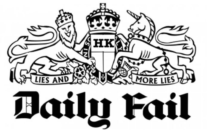 Stunt on Stunt – James Stunt becomes a contributor to The Steeple Times – New contributor James Stunt on how the Daily Mail have manipulated his image; he responds with mirth.