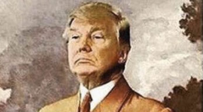 Picture of the Week – Trump as Hitler – Donald Trump and Adolf Hitler