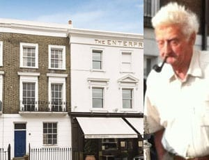 Donning The Enterprise – Former home of 'Don who was Donna at night' for sale – Walton Street, London, SW3 – £3 million
