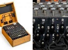 A Bit Of An Enigma – Bonhams in Knightsbridge, London to auction two Enigma machines at their science and technology sale for six figure sums. The respective reserves for the machines are £150,000 to £200,000 ($197,000 to $263,000, €169,000 to €225,000 or درهم724,000 to درهم965,000) and £100,000 to £150,000 ($131,000 to $197,000,