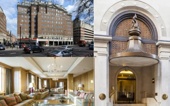 A Villa In The Sky – Apartment 74/75, Fountain House, Park Lane, Mayfair, London, W1K 7HQ, United Kingdom – For sale for £30 million ($38.8 million, €34.6 million or درهم142.6 million) through Wetherell