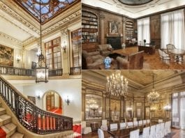 """Gilded Glory – 854 Fifth Avenue, Upper East Side, New York, NY 10065, United States of America – £38.75 million ($50 million, €45.96 million or درهم183.65 million) with Douglas Elliman – New York's """"last intact Gilded Age mansion"""""""