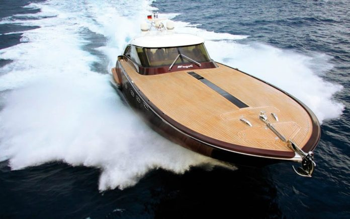 A Bargain Boat – Edward Kay reports on the sale of a striking 1-of-1 Aguti 20-metre wooden motor yacht that cost £6.4m to build; it is offered for just £1.4m