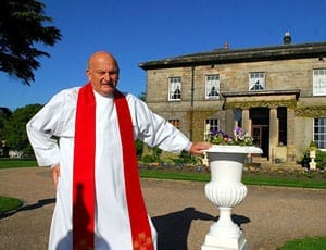 """Reverend Robert Parker (AKA """"Squire Parker"""" and """"Britain's richest vicar"""")"""