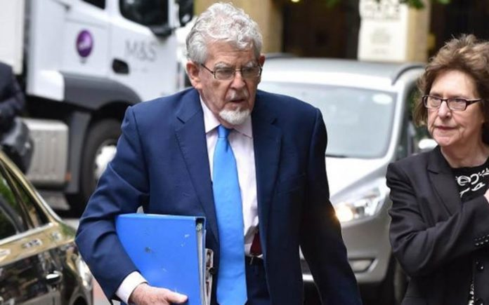 Rotten Rolf Still Rotten – Paedo Rolf Harris & apologist Lizzie Cornish – As majority of convictions of Rolf Harris are upheld, one of his supporters, Lizzie Cornish, launches into yet another of her tirades.