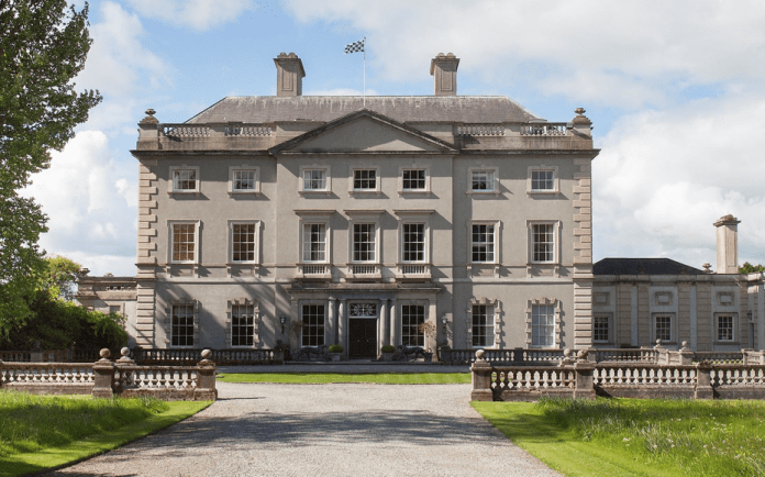 """A Wyatt Wonder – £18 million for Sir David Davies' The Abbey Leix Estate, Abbeyleix, County Laois, Ireland through Sotheby's International Realty – """"Hard head – healing hands"""" Welsh businessman looks to sell his £18 million Irish estate complete with a James Wyatt mansion and 1,120 acres; Sir David Davies became an Irish citizen after Brexit and has no time for Boris Johnson"""
