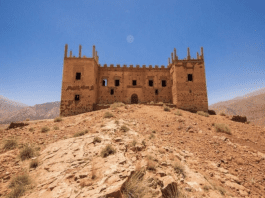 "A £5 Million Wreck – Kasbah Tagountaft, Morocco for sale Ruined Moroccan fortress fit for the most lavish of bashes for sale for £5.3 million through Kensington Properties; Kasbah Tagountaft may be ""spectacular"" but it most certainly doesn't have Wi-Fi."