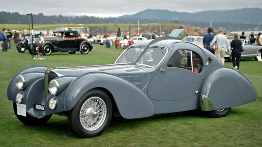 """Beauty's in the Eye of the Bargain Basement Bugatti – 2016 'Assembled Vehicle' 1939 Delahaye USA Pacific by Terry Cook – Replica """"homage to Jean Bugatti's Type 57S Atlantic coupé"""" to be auctioned for a sum 100% lower than the missing most famous of the four originals is said to be worth – The vehicle will be sold as part of the RM Sotheby's 'Drive Into Summer' online sale from 21st to 29th May. They have set an estimate of £124,000 to £165,000 ($150,000 to $200,000, €139,000 to €185,000 or درهم551,000 to درهم735,000)"""