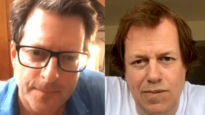 "Hancock gets a Brenda-ering – Tom Parker-Bowles with William Sitwell – Restaurant critic Tom Parker-Bowles does a 'Brenda from Bristol' in suggesting Health Secretary Matt Hancock's telly box appearances ""drive him mad"" on William Sitwell's 'Biting Talk'"