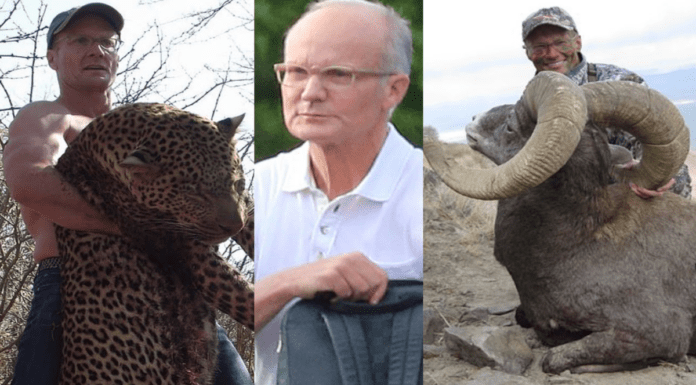 "Monster of the Moment – Dr Walter Palmer kills an endangered ram – Reprehensible ""driller killer"" dentist Walter Palmer will forever be remembered for slaying 'Cecil The Lion'; the sexual harasser of his own employees has now gone and done it again – this time the monster massacred an endangered ram."