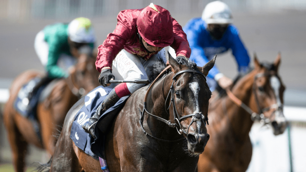Runners & Riders – The Oaks and The Derby 2020 – 'The Steeple Times' analyses the selections for a somewhat damp double at Epsom on 'Super Saturday'; we suggest enjoying The Oaks and The Derby 2020 at home. Pictured: Kameko ridden by Oisin Murphy winning the Qipco 2000 Guineas at Newmarket in June.