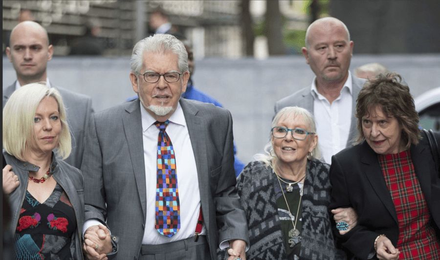 Rotten Reeking Rolf Returns – Rolf Harris spotted in soiled clothing – As Rolf Harris is spotted pounding the pavements in soiled clothing, the public must be reminded that this paedo pest is still nothing but a mucky monster. Rolf Harris of Highlands, Fishery Road, Bray, Maidenhead, Berkshire, SL6 1UP.
