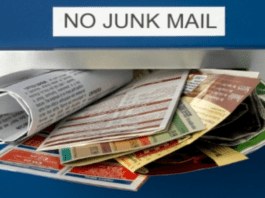Junk the Junk – Junk mail potentially spreads disease, banish it – Instead of banning people from enjoying themselves, the government should ban a genuine disease spreader: Junk mail.